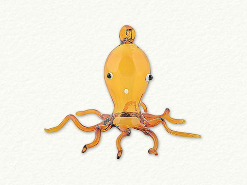 Egyptian Glass Octopus Ornament