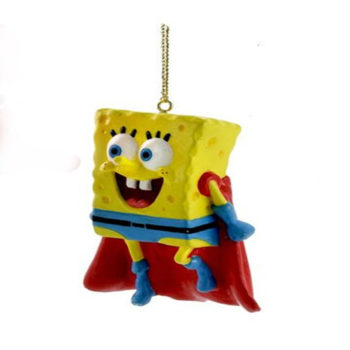 Spongebob Squarepants Superhero Ornament