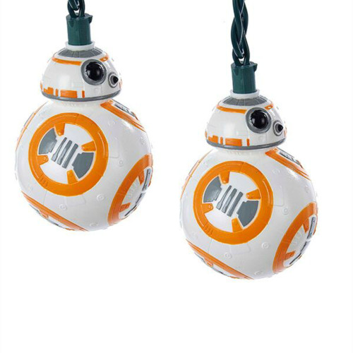 10 Lit Star Wars BB8 Novelty Light Set
