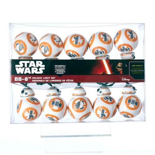 10 Lit Star Wars BB8 Novelty Light Set