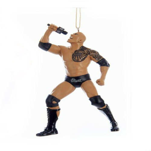 WWE The Rock Ornament