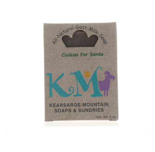 New Hampshire Goats Milk Cookies for Santa Soap by Kearsarge Mountain Soaps