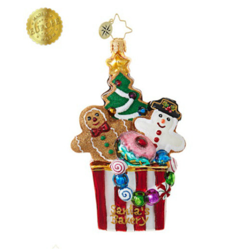 *2017* Christopher Radko - Christmas Cookie Comfort Ornament