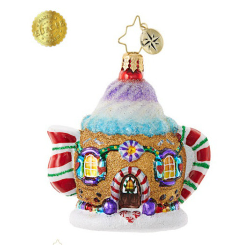 *2017* Christopher Radko - Sweet Tea Gem Ornament
