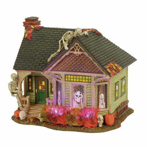 *New 2017* Department 56- Halloween Village- The Skeleton House