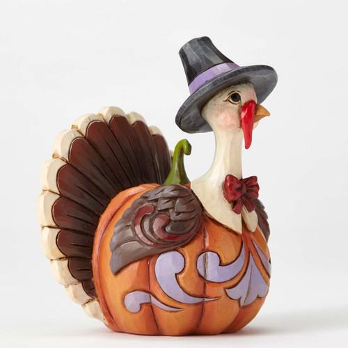 Jim Shore Heartwood Creek-Pumpkin Turkey