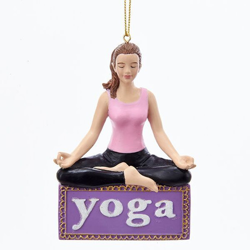 Yoga Girl Ornament