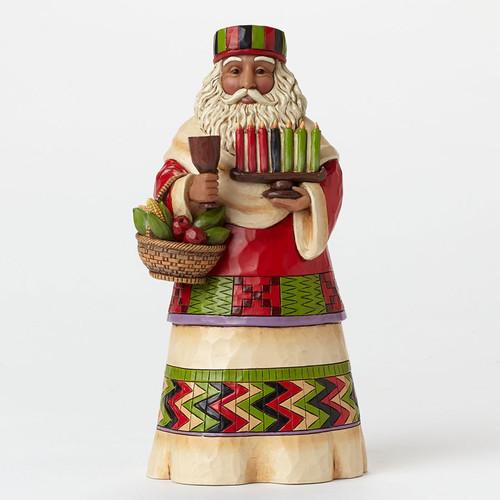 Jim Shore Heartwood Creek - African Santa