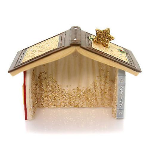 Heart of Christmas- Mouse Nativity Creche Lit