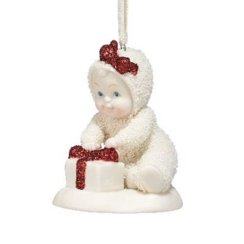Snowbabies Ornament - All wrapped in Bows