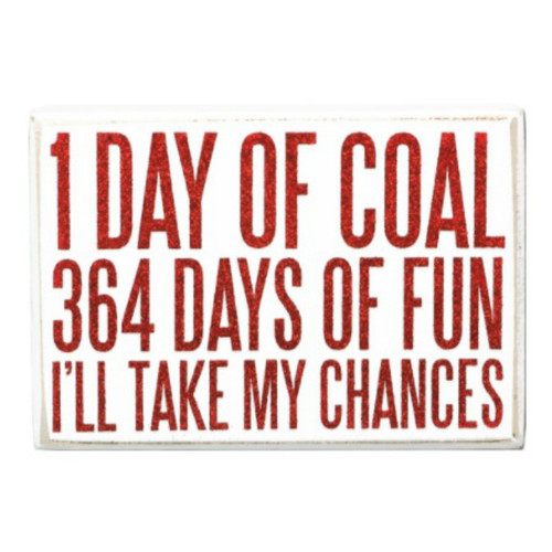 364 Days of Fun Box Sign