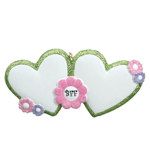 Free Personalization - BFF Ornament