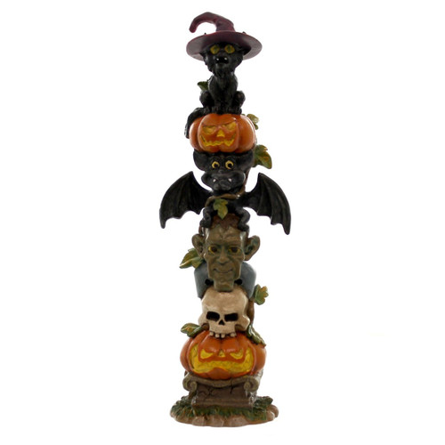 Department 56- Halloween Village Accessories- Haunted Totem Pole