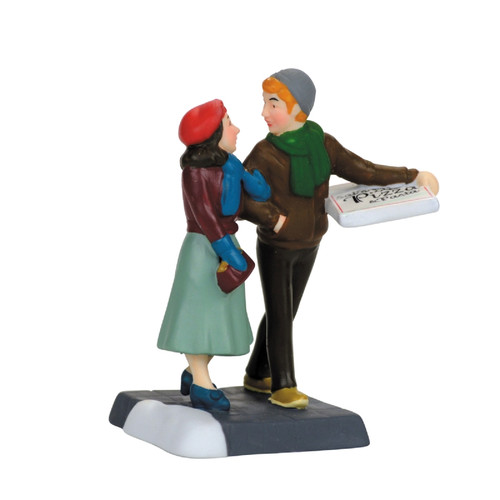 Department 56- Christmas in the City Accessories- Pizza Date