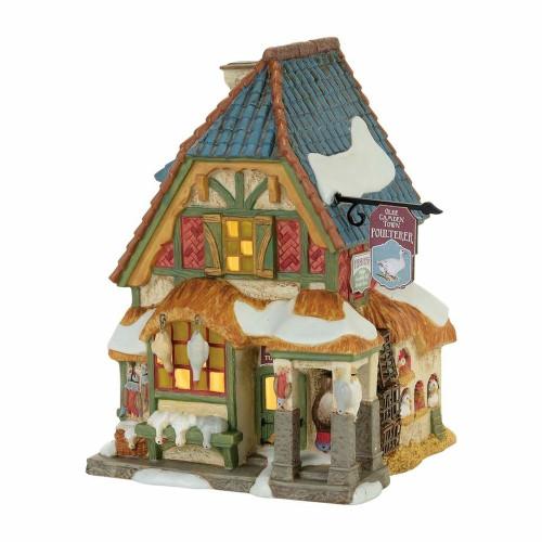 *New 2017* Department 56- Dickens' Village- Xmas Carol Poulterers Shop Set