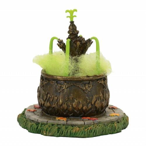*New 2017* Department 56-  Halloween Village Accessory-Toad Fountain