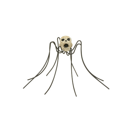 *New 2017* Department 56-  Halloween Village Accessory-Skull Spider