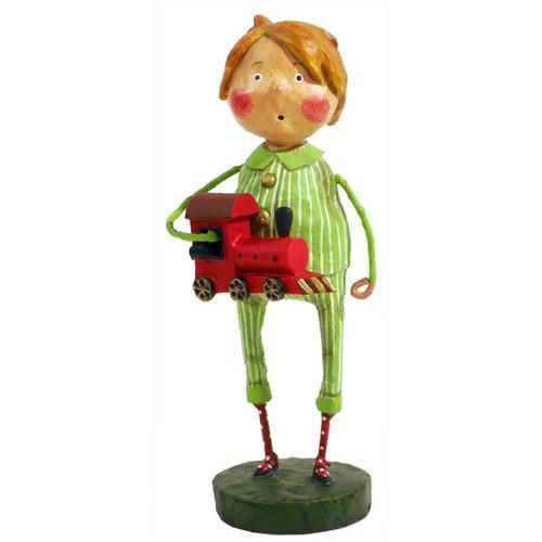 Lori Mitchell Folk Art - Choo Choo Magoo Figurine
