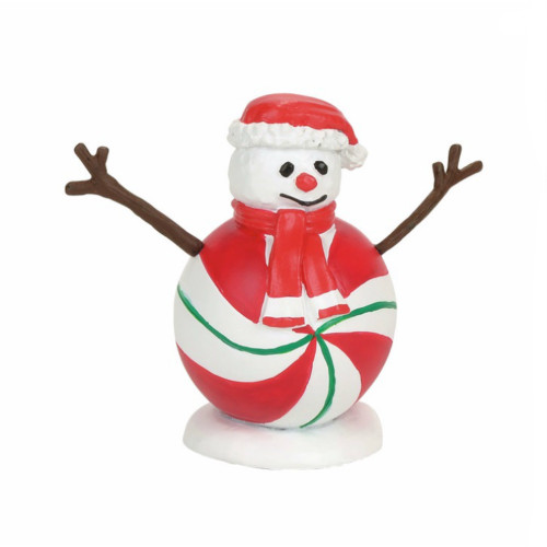 *New 2017* Department 56 -  Village Accessory - Peppermint Snowman