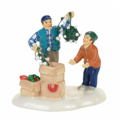 *New 2017* Department 56 -  National Lampoon's Christmas Vacation Village - Clark & Rusty Continue Tradition Accessory
