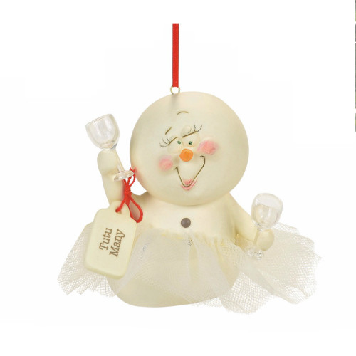 Department 56 - Snowpinions Tutu Many Ornament
