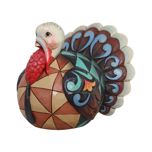New 2017* Jim Shore Heartwood Creek- Mini Turkey