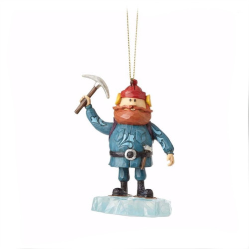 *New for 2017* Jim Shore - Yukon on Ice Block Ornament