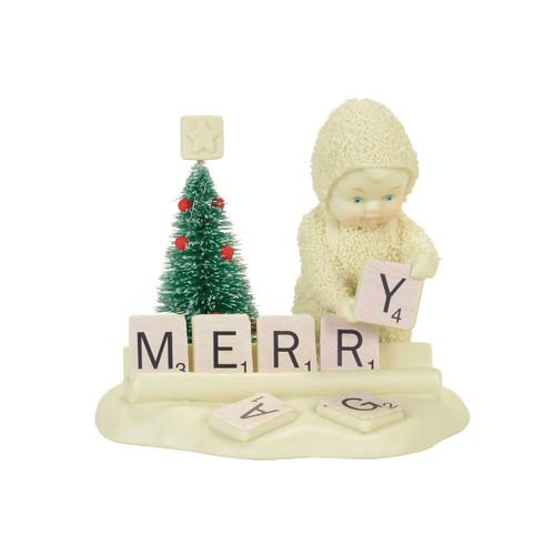 Department 56 - Snowbabies - Christmas Scrabble