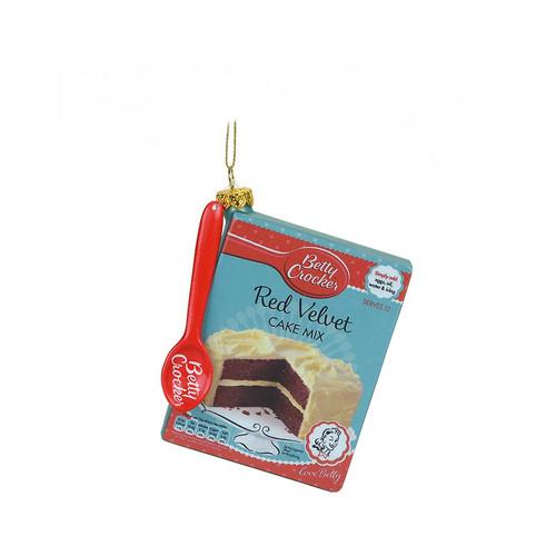 Betty Crocker Cake Mix Ornament