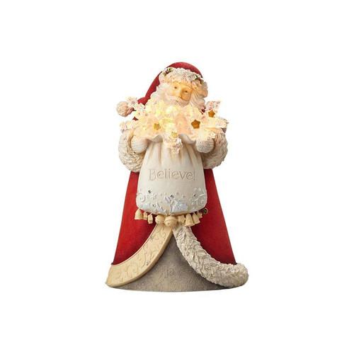 Heart of Christmas- Santa Believe Figurine