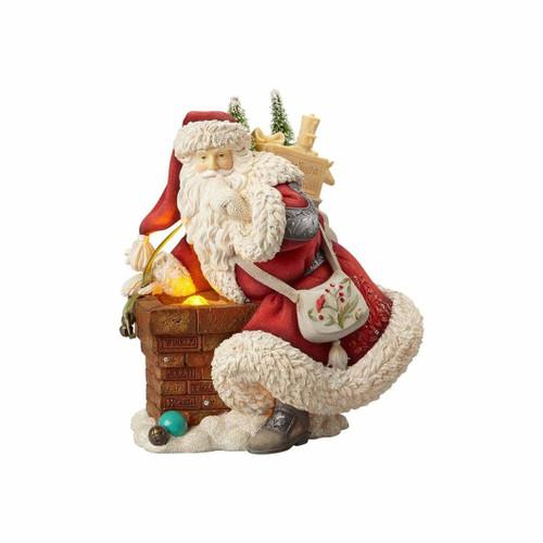 Heart of Christmas- Santa at Chimney
