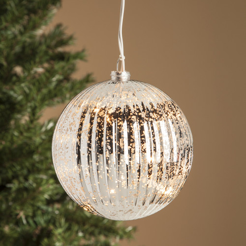 White Glob Ornament
