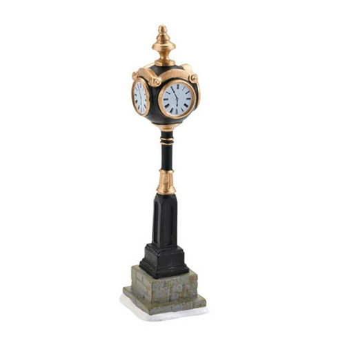 Department 56- Christmas in the City Accesories- Uptown Clock