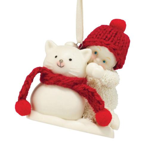 Snowbabies - Snowcat Ornament
