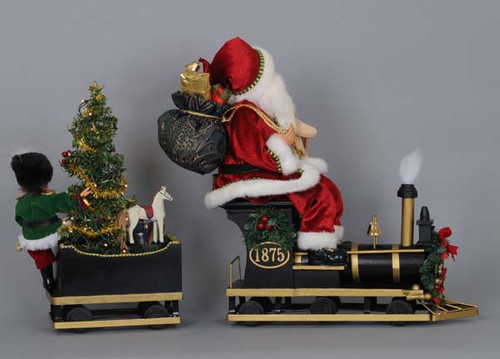 Karen Didion - Lit Traditional train Santa