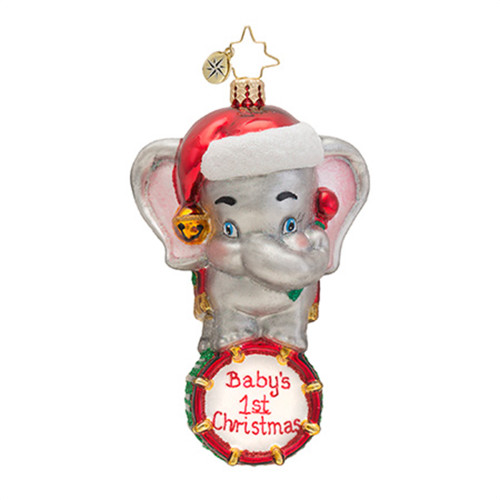 Radko - Celebratory Sweetie Babies First Christmas Ornament