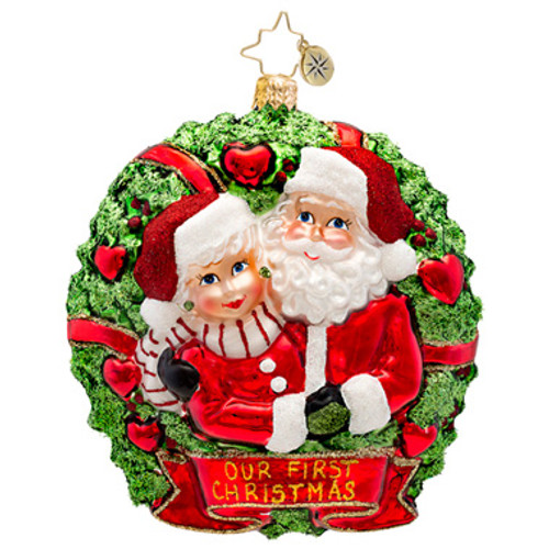 Radko - Loving Couple Ornament
