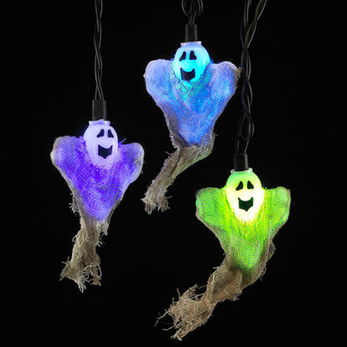 Halloween Color Changing Ghost Party String Lights