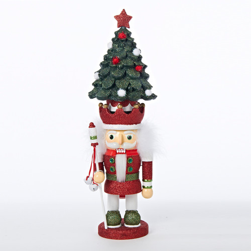 19 inch Hollywood Nutcracker Green Christmas Tree Hat
