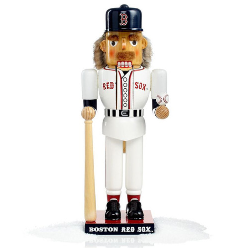 14 inch Boston Red Sox Baseball Nutcracker