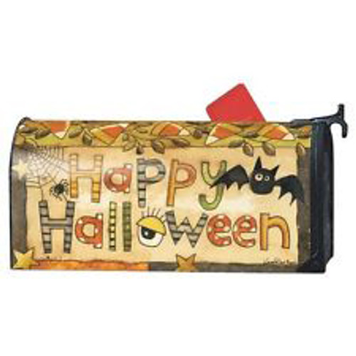 Spooky Halloween MailWraps® Magnetic Mailbox Cover