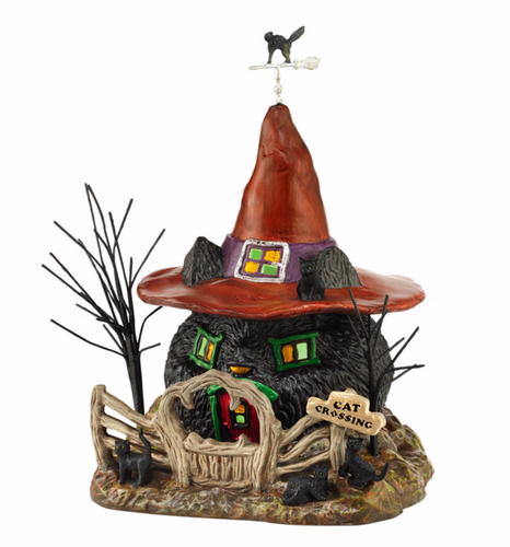 Department 56 Village - Black Cat Shack