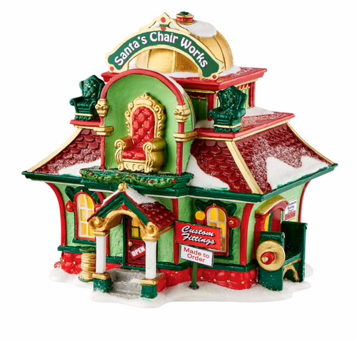 Department 56  Village North Pole Series - Santa's Chair Works