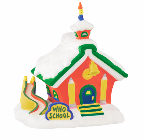 Department 56 Grinch Villages - Who School