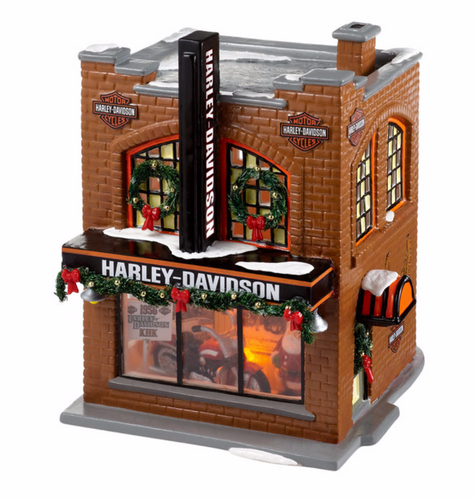 Department 56 - Original Snow Village - Harley-Davidson® Snow Village
