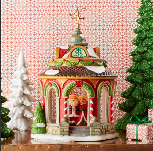 Department 56 - *2016 North Pole Series - Anniversary Gazebo, North Pole