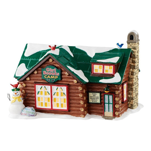 Department 56 - Snow Village - Girl Scouts Camp