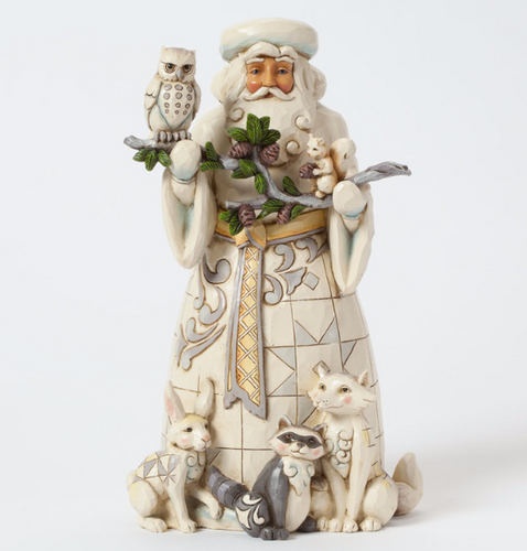 Jim Shore Heartwood Creek - Woodland Santa with Animals