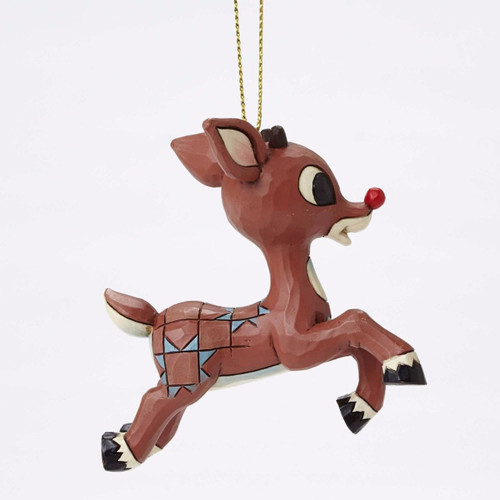 Jim Shore Heartwood Creek - Rudolph Flying Ornament