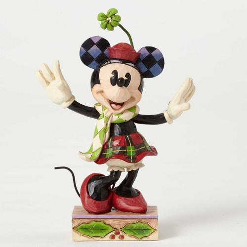 Jim Shore Disney Traditions - Mini Mouse Posing Figurine